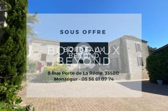 Ancienne propriété viticole avec 9 hectares de prairies environnantes et une vue magnifique.
