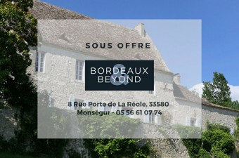 This attractive fortified chateau benefits from an elevated position and imposing views.  Entered via a stone archway you arrive into a private, grassy courtyard, flanked by the main house and outbuildings.